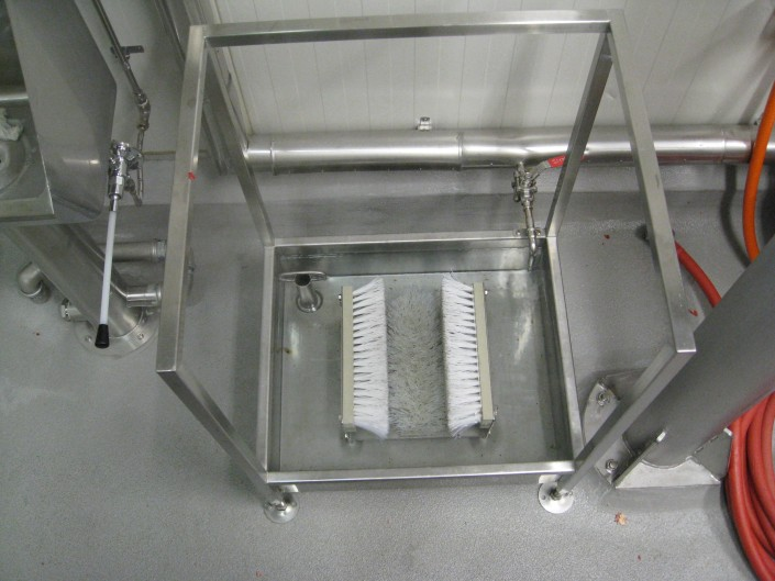 Stainless Steel Boot wash stations