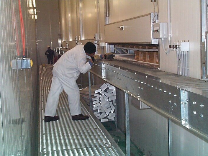 Stainless Steel Static Platforms - static