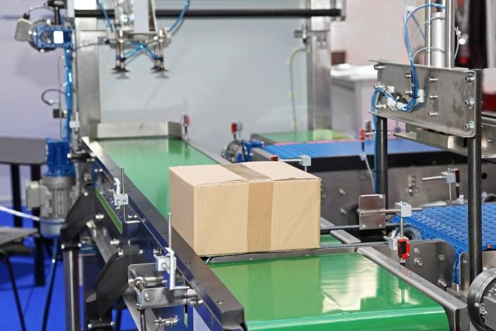 Carton Conveyor - Belt Conveyor