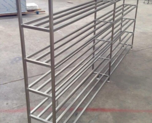 STainless Steel Product Storage Racks