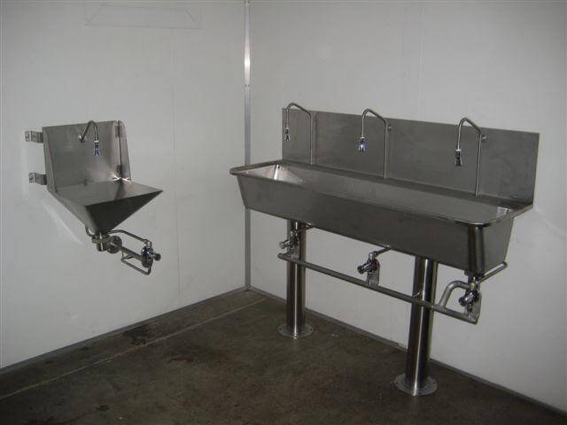 handwash trough - Production Room Solutions
