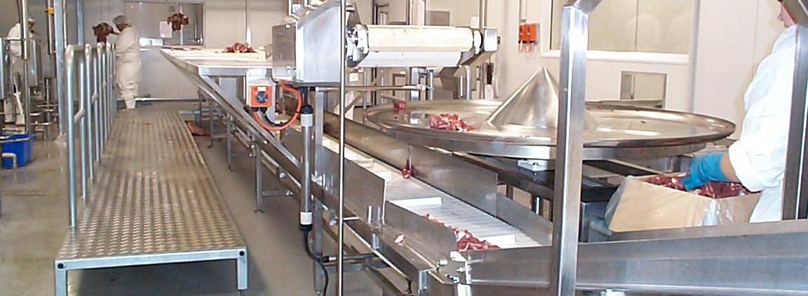 Meat Processing Conveyor