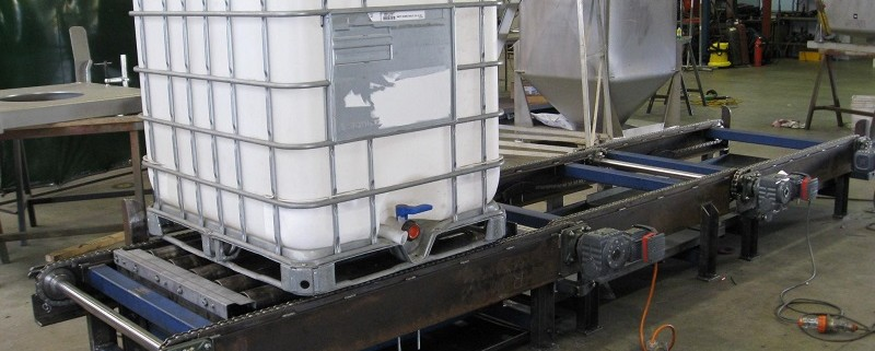 pallecon conveyors - precision stainless systems