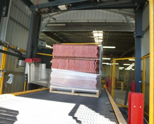 Pallet Wrap Conveyor