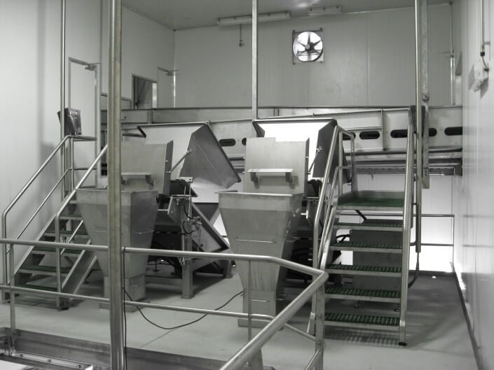 Stainless Steel Product Chutes