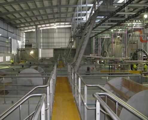 Stainless Steel Mezzanine Floors