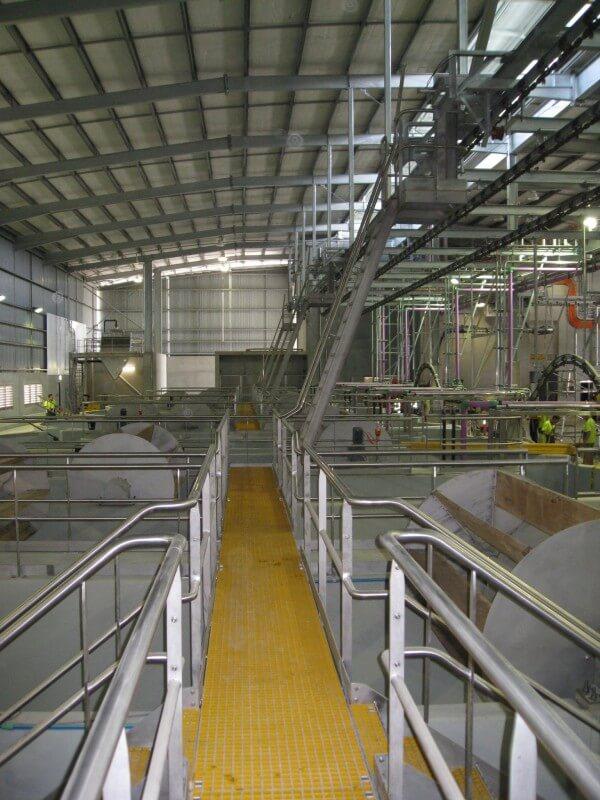 Stainless Steel Mezzanine Floors And Access Walkways