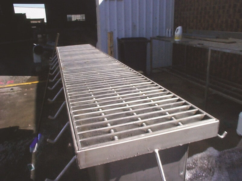 Stainless steel drains and grates precision stainless for Waste drainage system