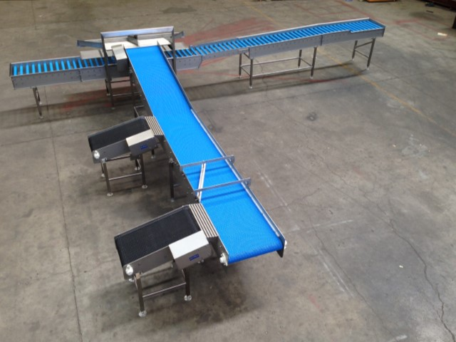 product transfer packaging conveyor 2017